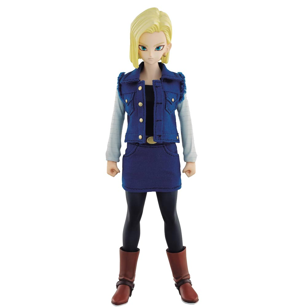 ANDROID N.18 FIGURA 18.5 CM DRAGON BALL Z SERIE DOD