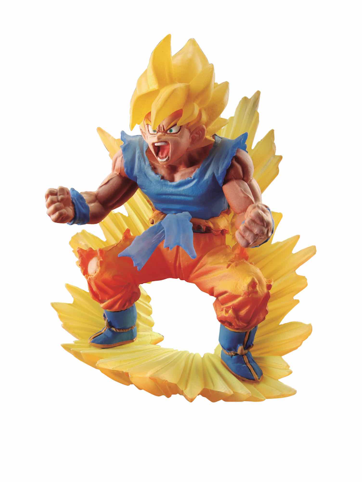 SUPER SAIYAN SON GOKU 02 FIGURA 10 CM DRAGON BALL Z SERIE DRACAP MEMORIAL