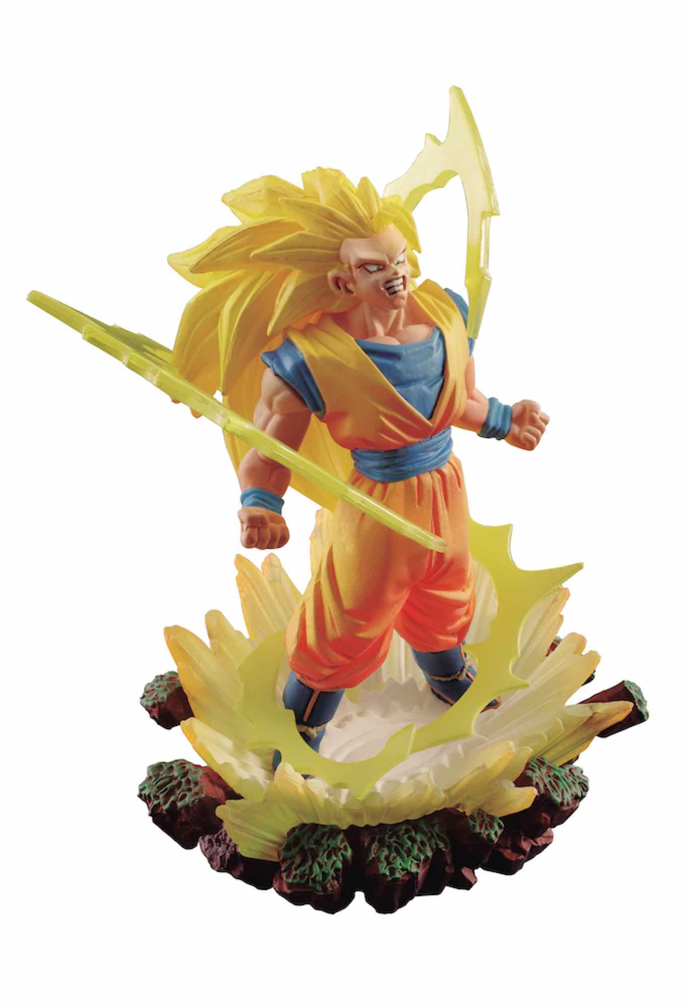 SUPER SAIYAN 3 SON GOKU 03 FIGURA 10 CM DRAGON BALL Z SERIE DRACAP MEMORIAL