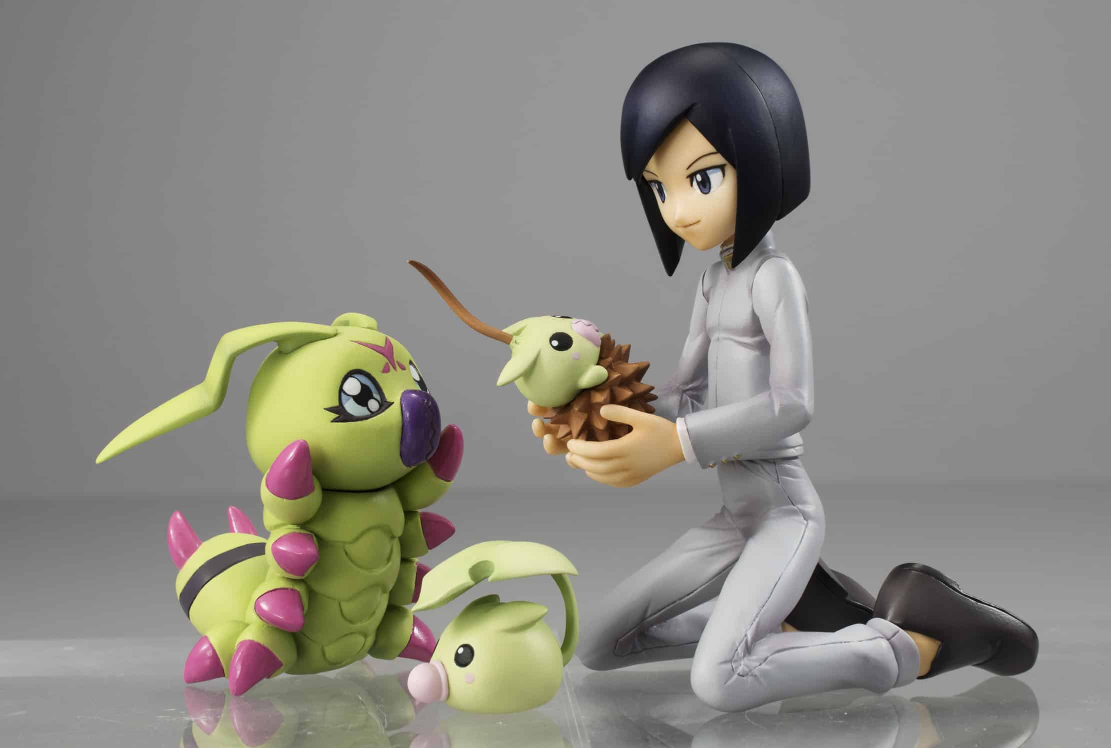 KEN & WARMMON FIGURA 10 CM DIGIMON G.E.M.