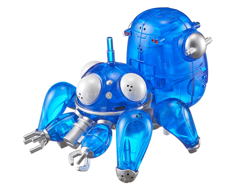 WALKING TACHIKOMA RETURN CLEAR VERSION FIGURA 6 CM GITS STAND ALONE COMPLEX