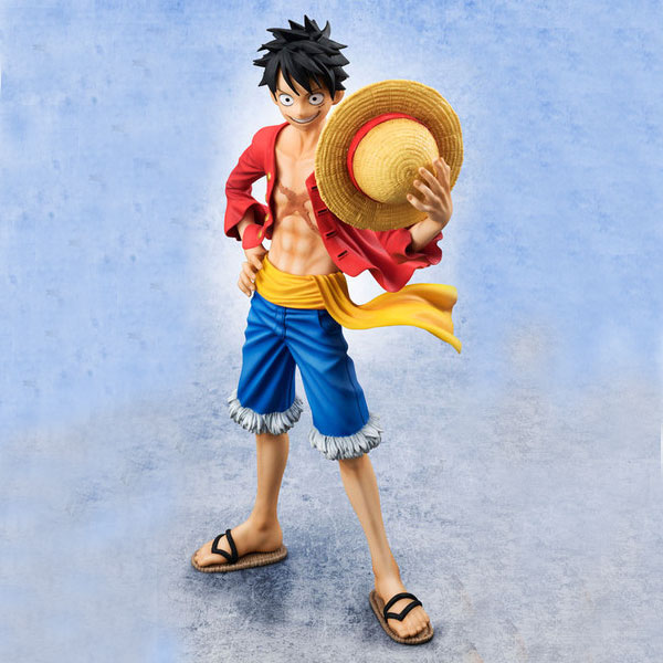 LUFFY VERSION 2 SAILING AGAIN FIGURA 22 CM ONE PIECE P.O.P. EXCELLENT MODEL SERIES