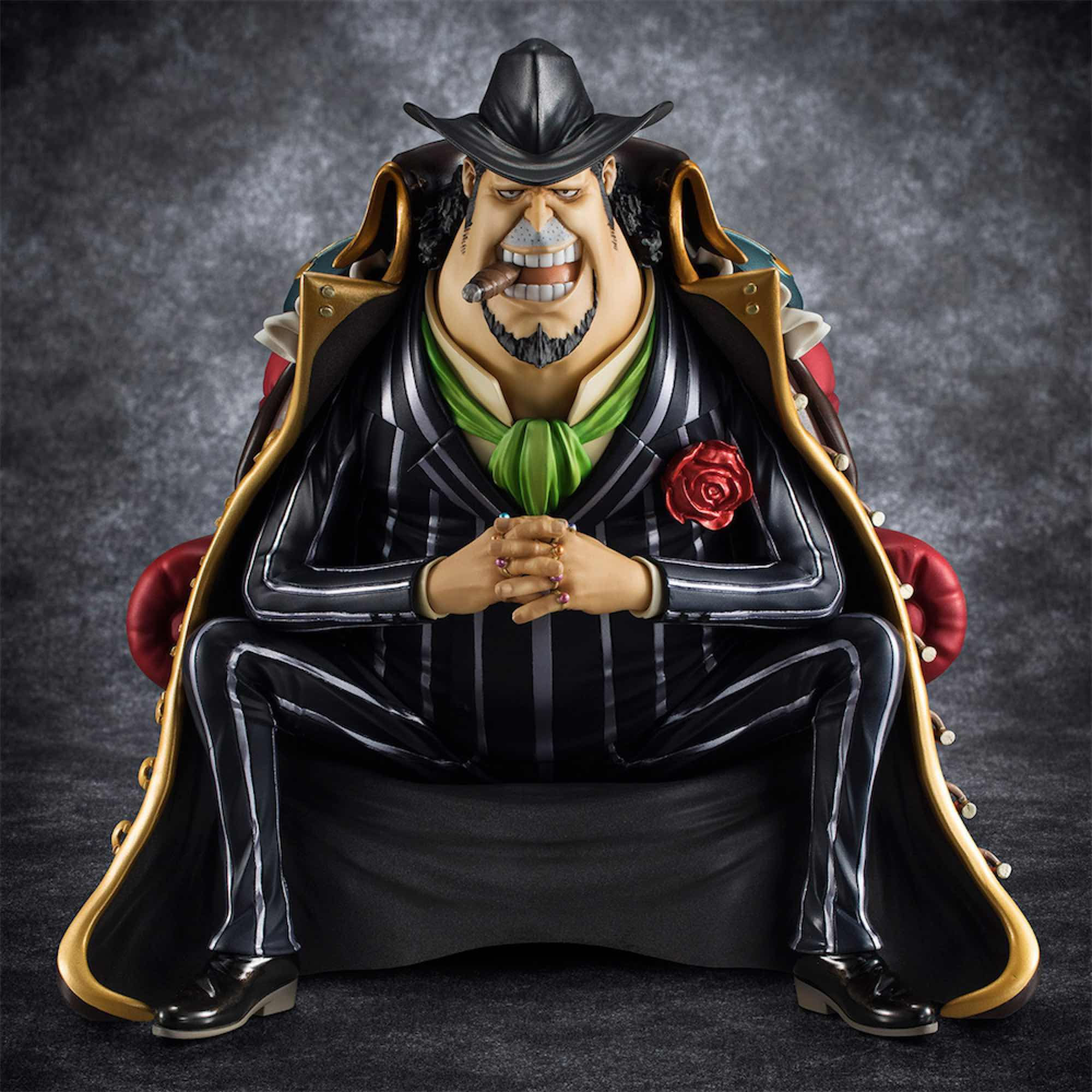 CAPONE GANG BEDGE FIGURA ONE PIECE PORTRAIT OF PIRATES S.O.C.