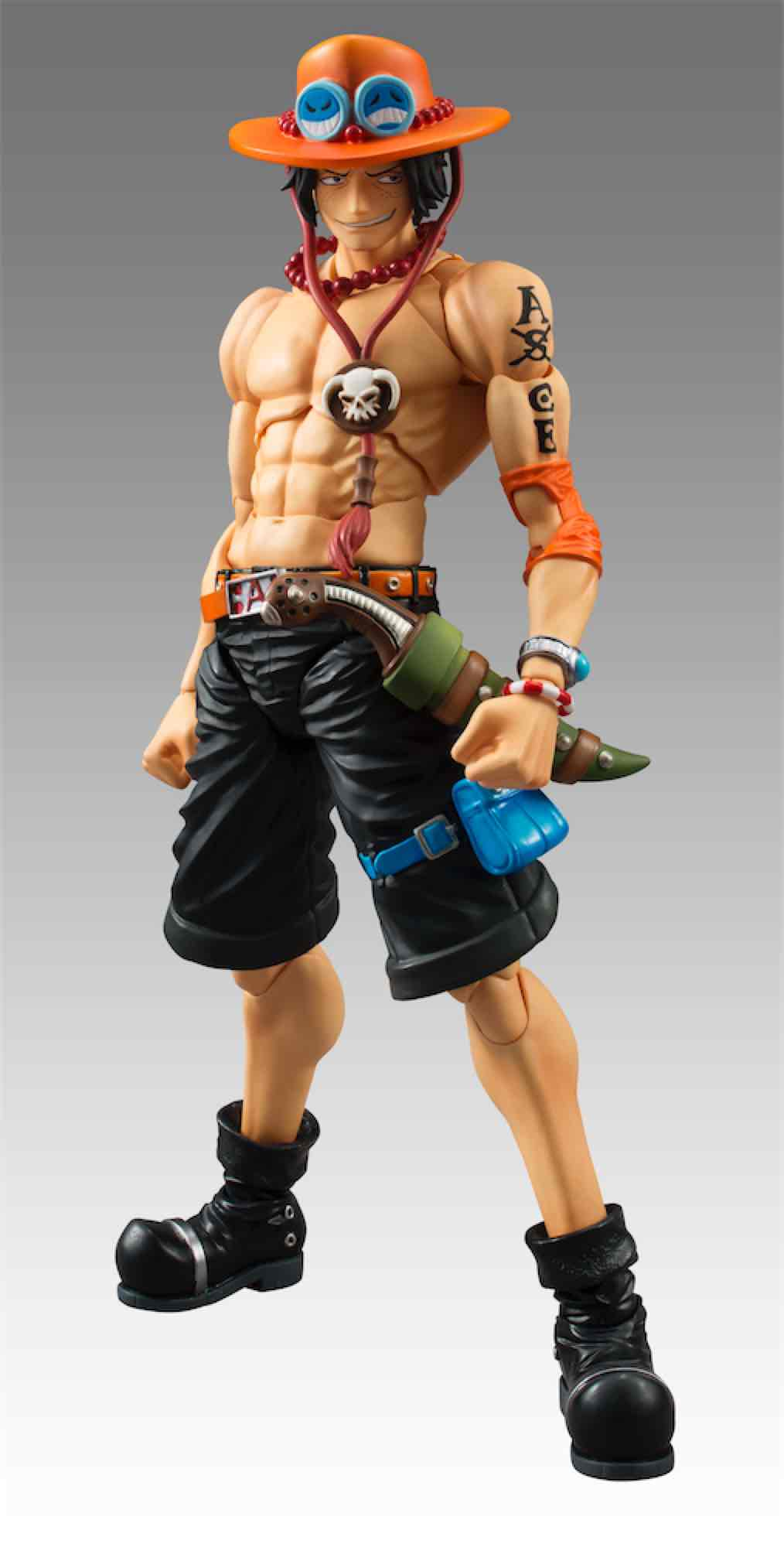 PORTGAS D. ACE FIGURA 18 CM ONE PIECE P.O.P. VARIABLE ACTION HEROS