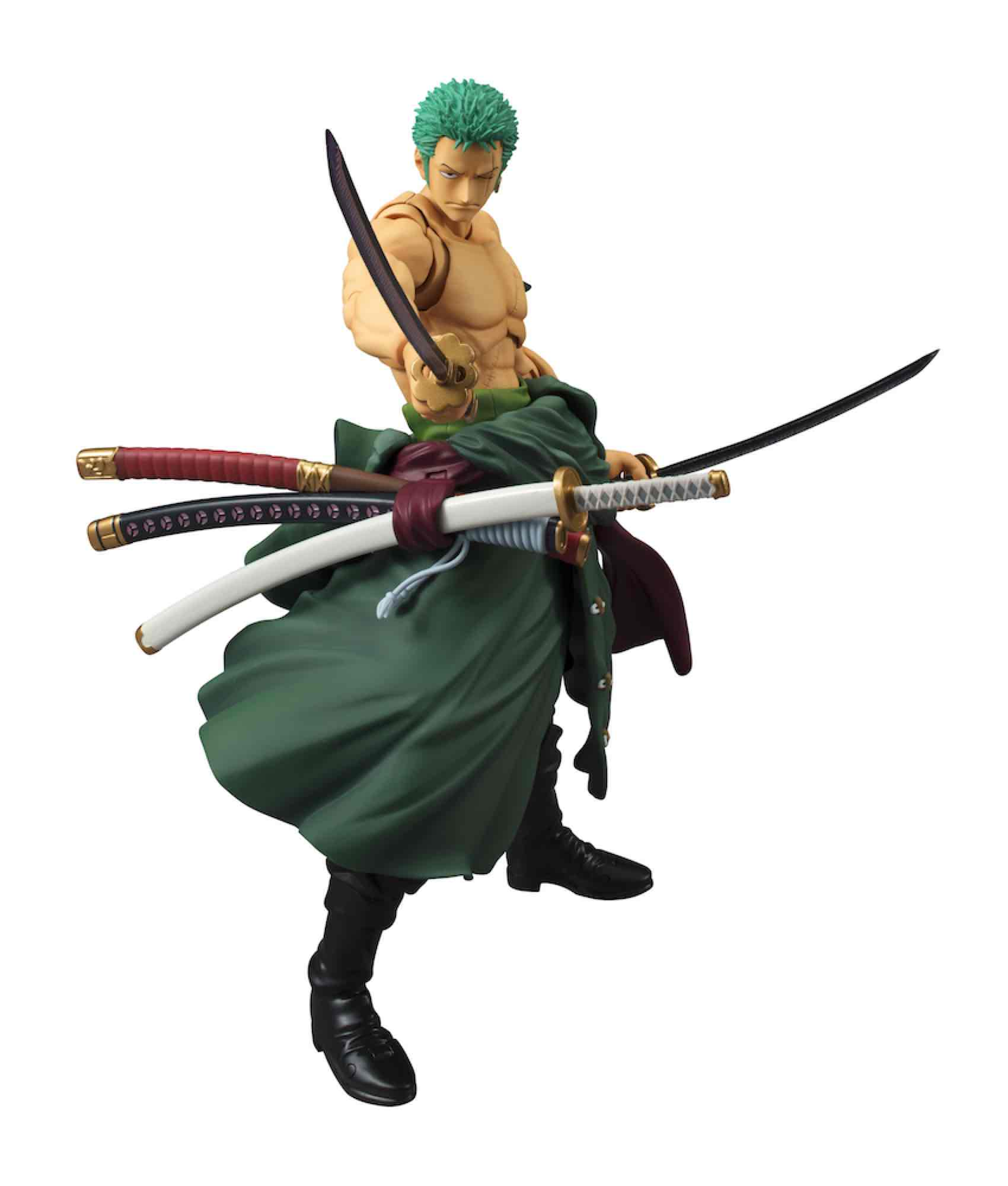 RORONOA ZORO FIGURA 18 CM ONE PIECE VARIABLE ACTION HEROES