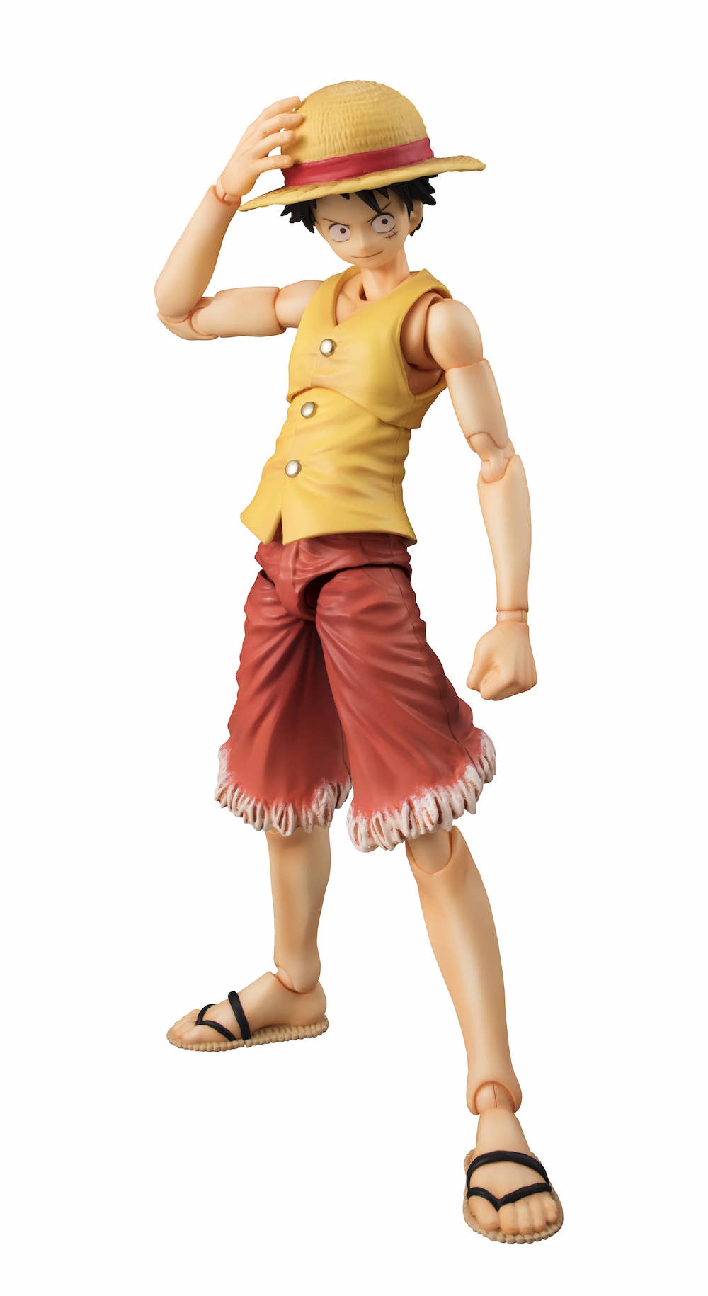 MONKEY D. LUFFY VER. AMARILLO FIGURA 16.5 CM ONE PIECE EAST BLUE VARIABLE ACTION HEROES