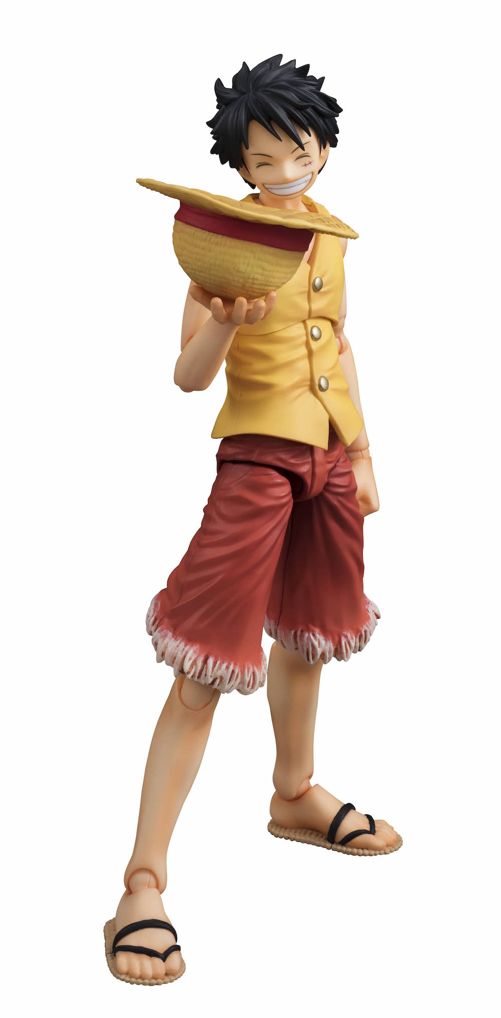 MONKEY D. LUFFY VER. AMARILLO FIGURA 16.5 CM ONE PIECE EAST BLUE VARIABLE  ACTION HEROES 3c648d996f8