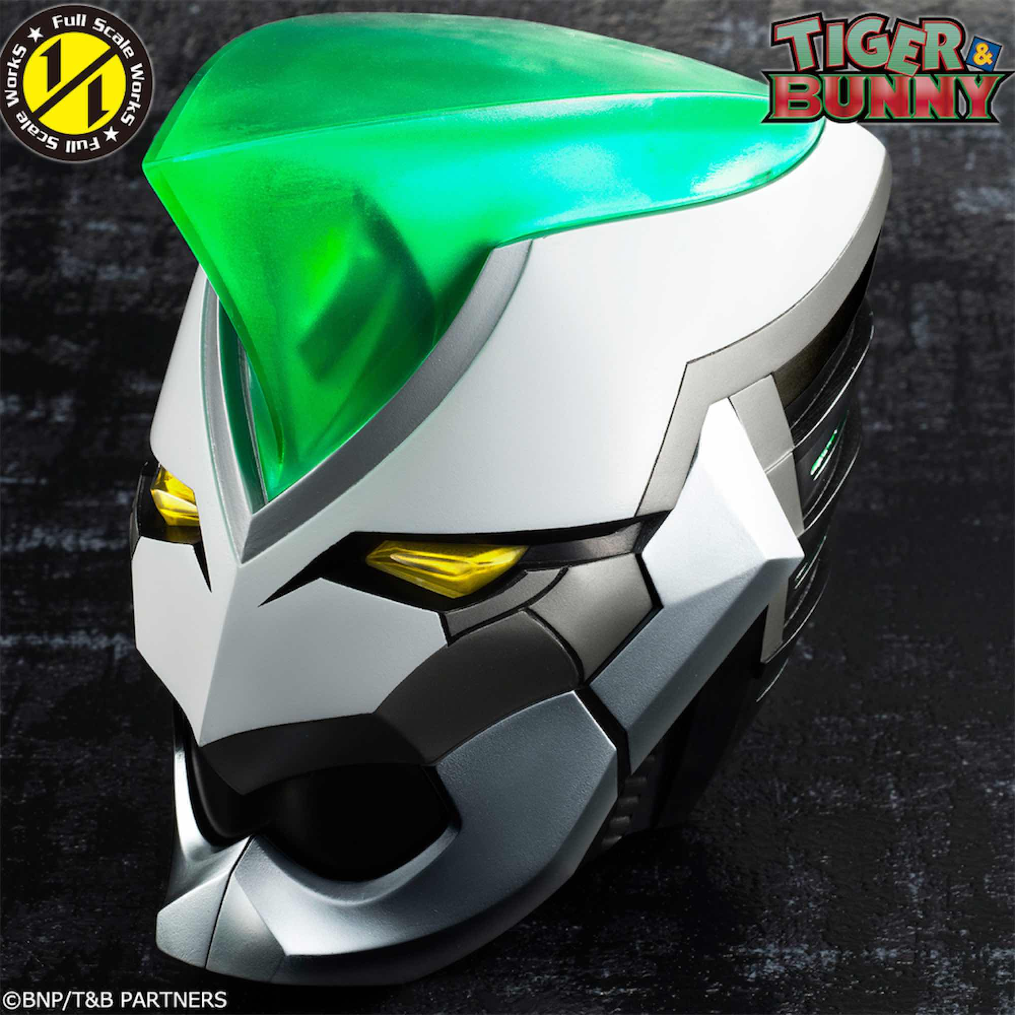 WILD TIGER FIGURA TIGER & BUNNY FULL SCALE WORKS
