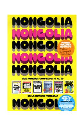 RECOPILATORIO MONGOLIA VOLS 7 A 12