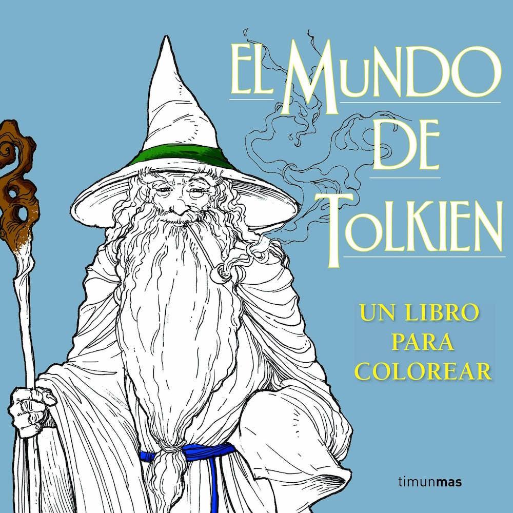 EL MUNDO DE TOLKIEN (ILUSTRACIONES PARA COLOREAR)