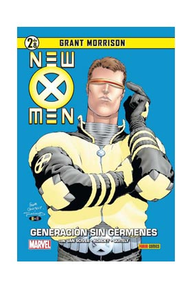 NEW X-MEN 02: GENERACION SIN GERMENES (COLECCIONABLE GRANT MORRISON 02)