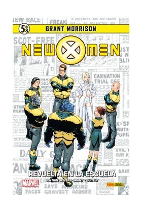 NEW X-MEN 05: REVUELTA EN LA ESCUELA (COLECCIONABLE GRANT MORRISON 05)