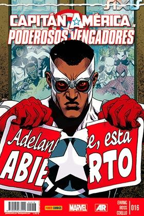 CAPITAN AMERICA Y LOS PODEROSOS VENGADORES 16