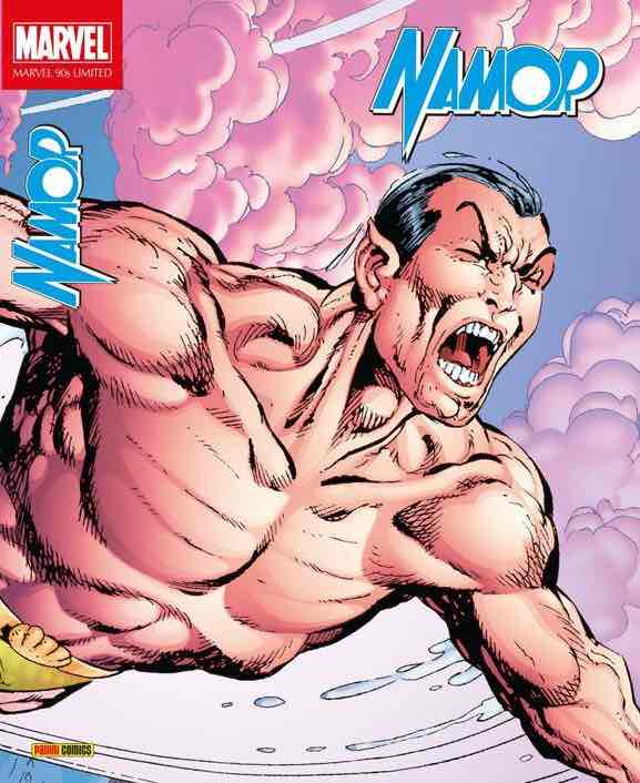 90'S LIMITED NAMOR DE JOHN BYRNE  (MARVEL LIMITED EDITION)