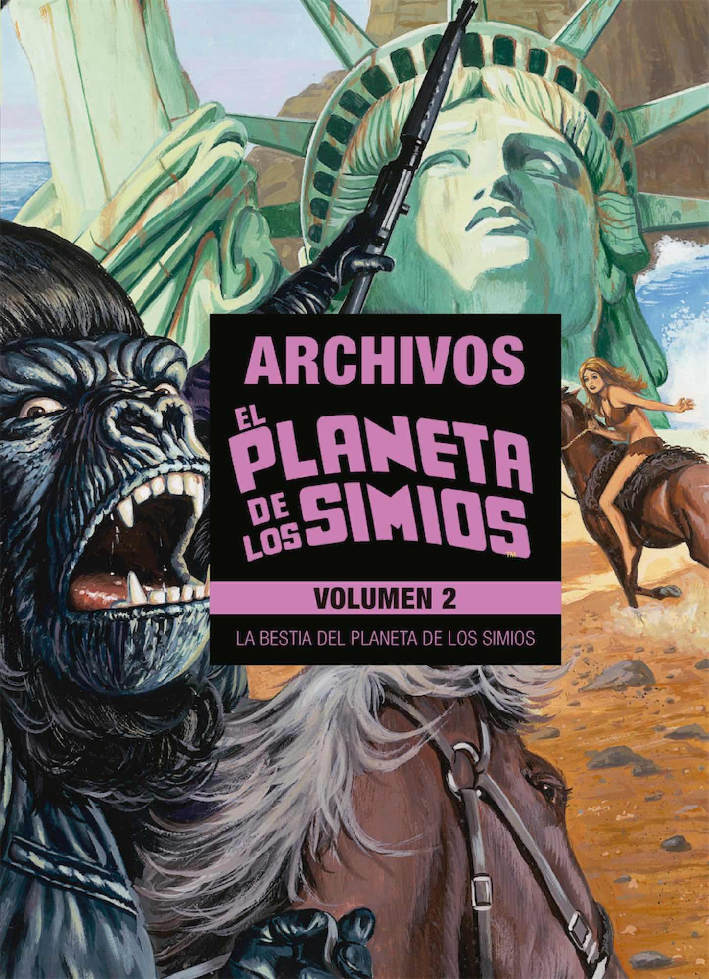 EL PLANETA DE LOS SIMIOS. ARCHIVOS 02 (LIMITED EDITION)