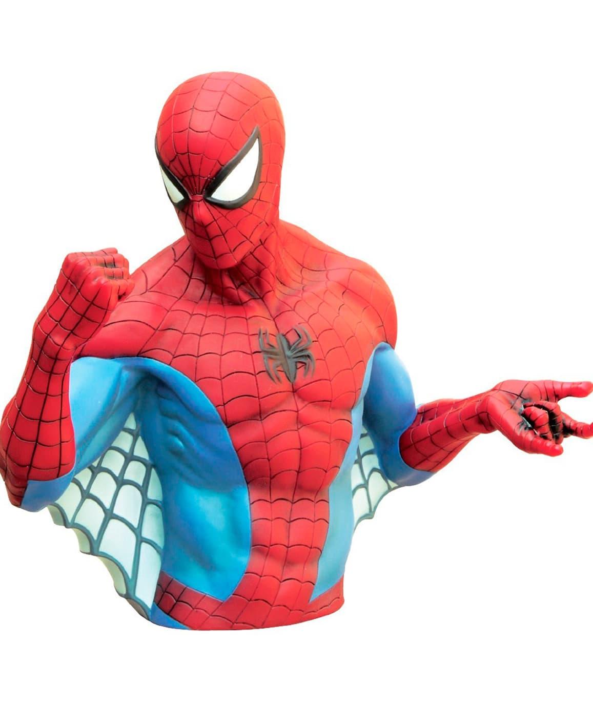 SPIDER-MAN HUCHA BUSTO 20 CM MARVEL