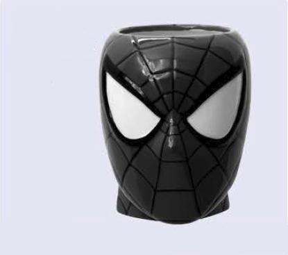 SPIDER-MAN TRAJE SIMBIONTE SUPER HEROE TAZA CERAMICA FIGURATIVA MARVEL