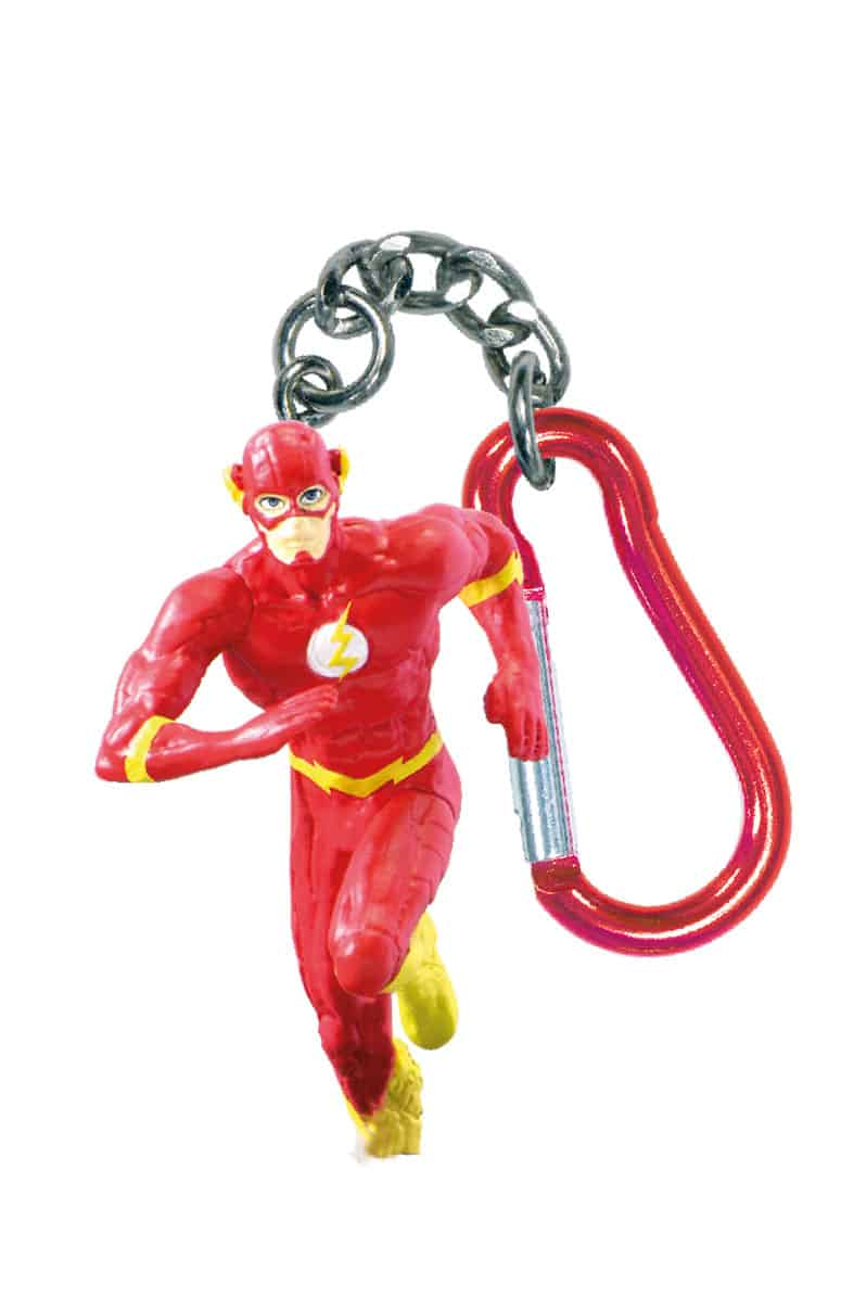 THE FLASH LLAVERO MOSQUETON FIGURA 6 CM DC UNIVERSE