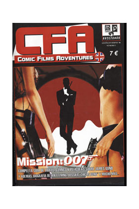 CFA COMIC FILMS ADVENTURES. MISION: 007