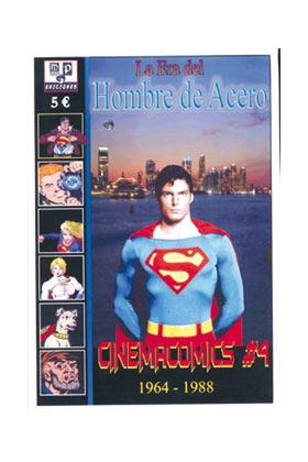 CINEMACOMICS 04. LA ERA DEL HOMBRE DE ACERO 1964-1988
