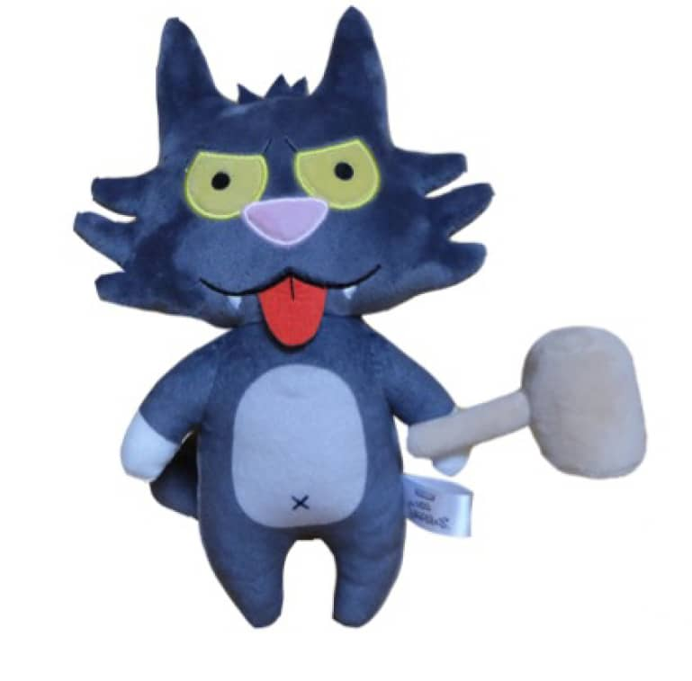 SCRATCHY PELUCHE 20 CM THE SIMPSONS PHUNNY