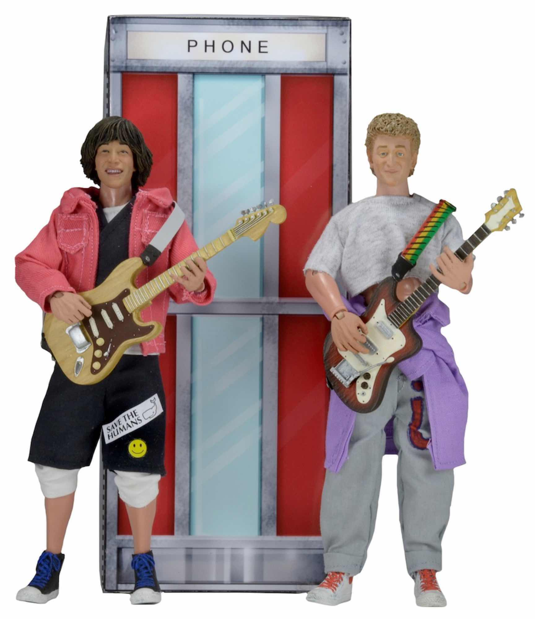 BILL & TED PACK 2 FIGURAS 20 CM BILL AND TED'S EXCELLENT ADVENTURE CLOTHED FIGURE