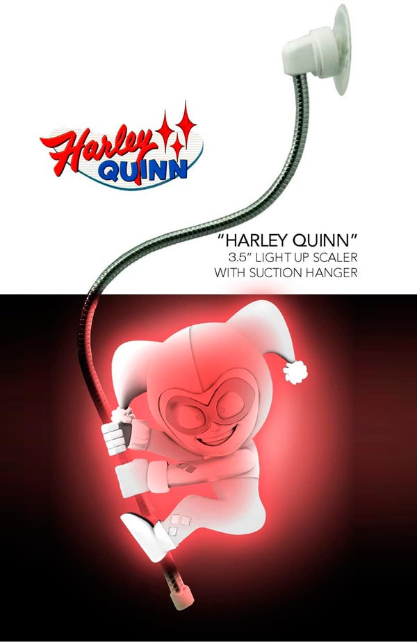 HARLEY QUINN SCALERS LIGHT UP FIG 9 CM DC UNIVERSE SCALER