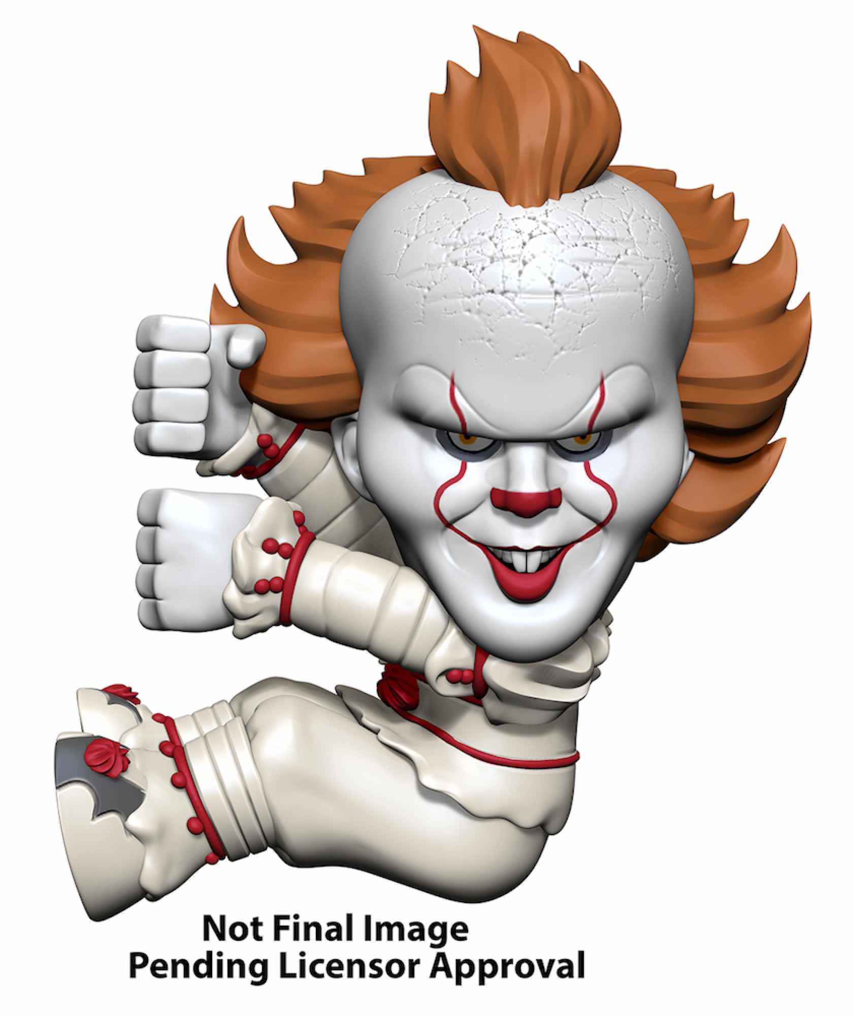 PENNYWISE FIGURA 5 CM SCALERS IT 2017 MOVIE