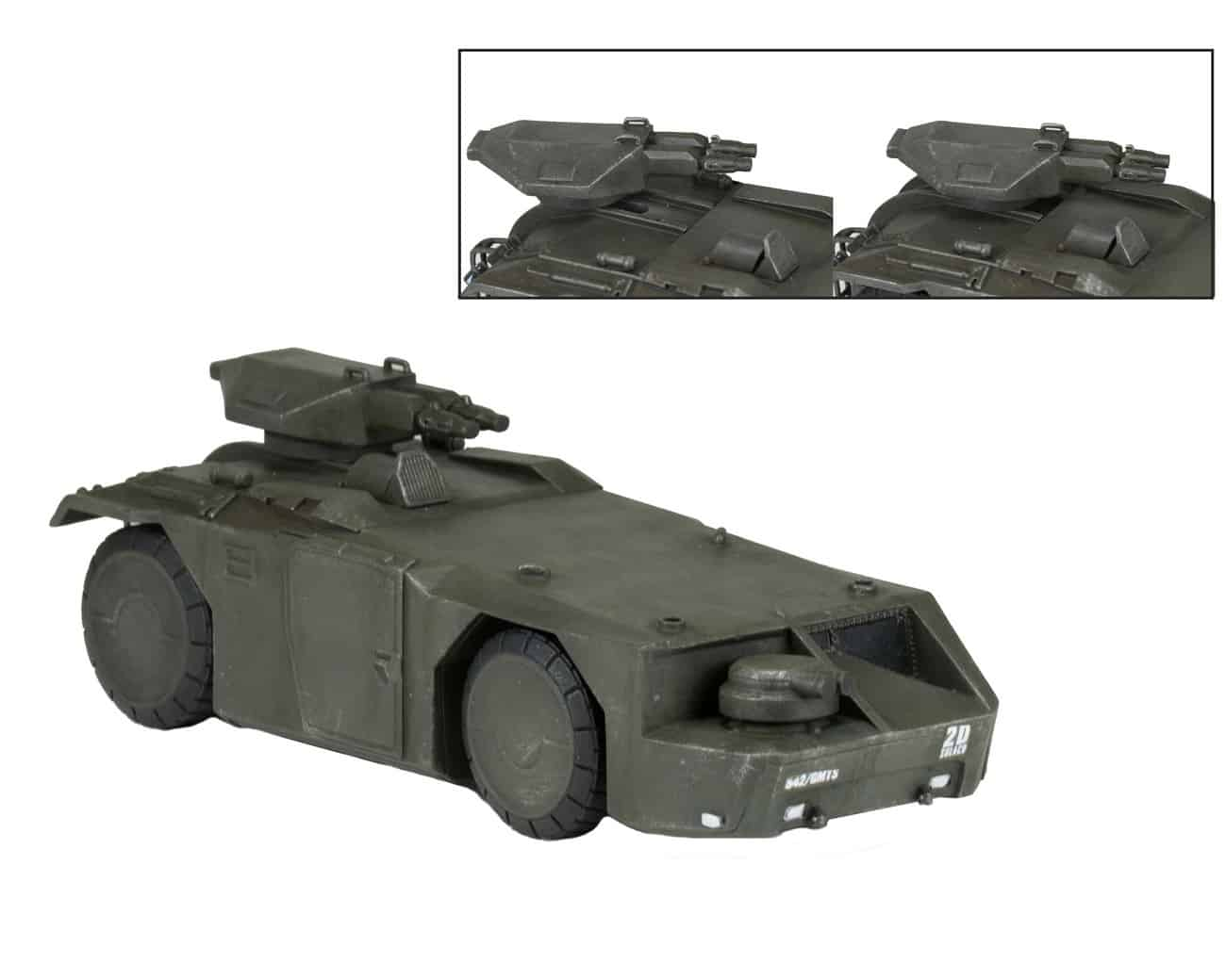 M577 ARMORED PERSONNEL CARRIER  FIG 15 CM ALIEN CINEMACHINES DIE CAST COLLECTIBLES SERIE 1
