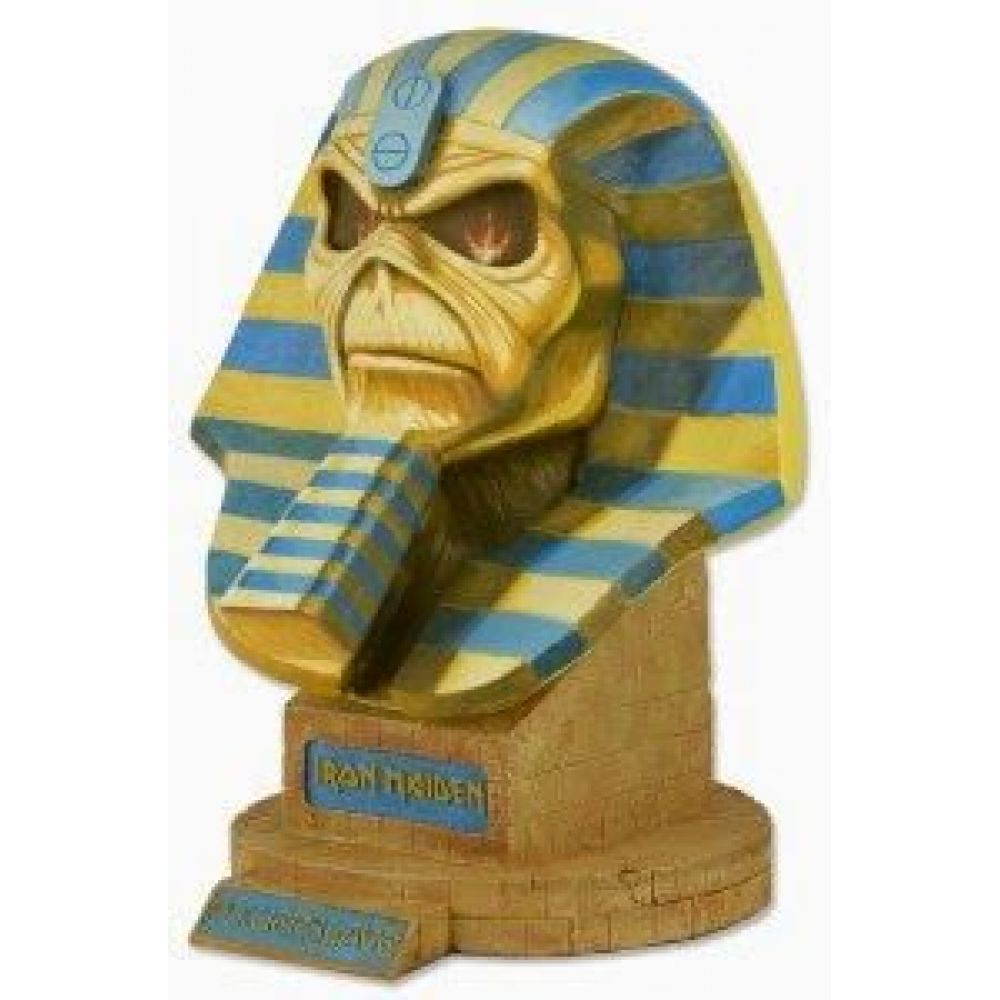EDDIE POWERSLAVE BUSTO LIFE-SIZE 50 CM IRON MAIDEN LIMITED EDITION