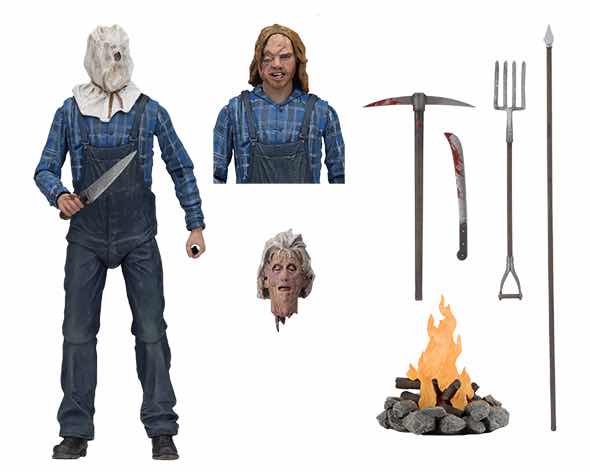 JASON VIERNES 13 FIGURA 18 CM FRIDAY THE 13TH ULTIMATE PARTE 2