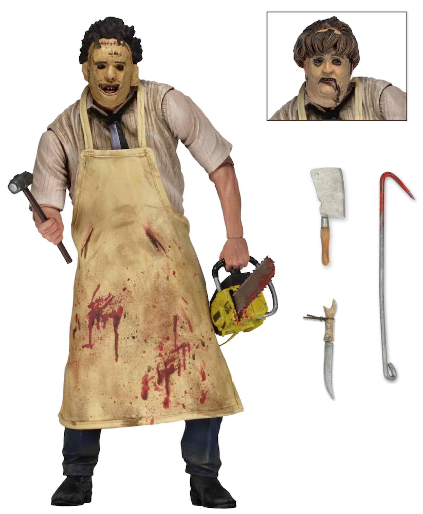 ULTIMATE LEATHERFACE FIGURA 18 CM TEXAS CHAINSAW MASACRE