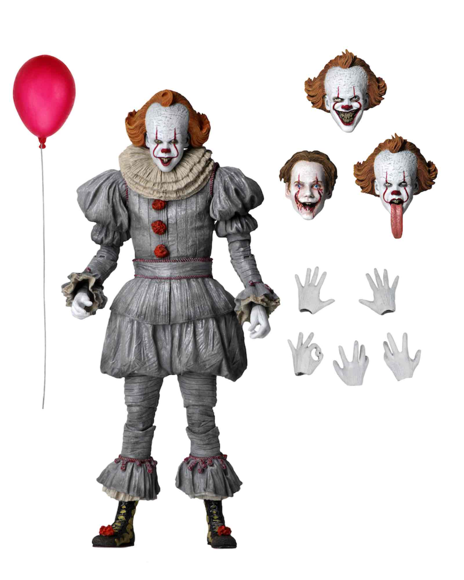 ULTIMATE PENNYWISE FIGURA 18 CM SCALE ACTION F...