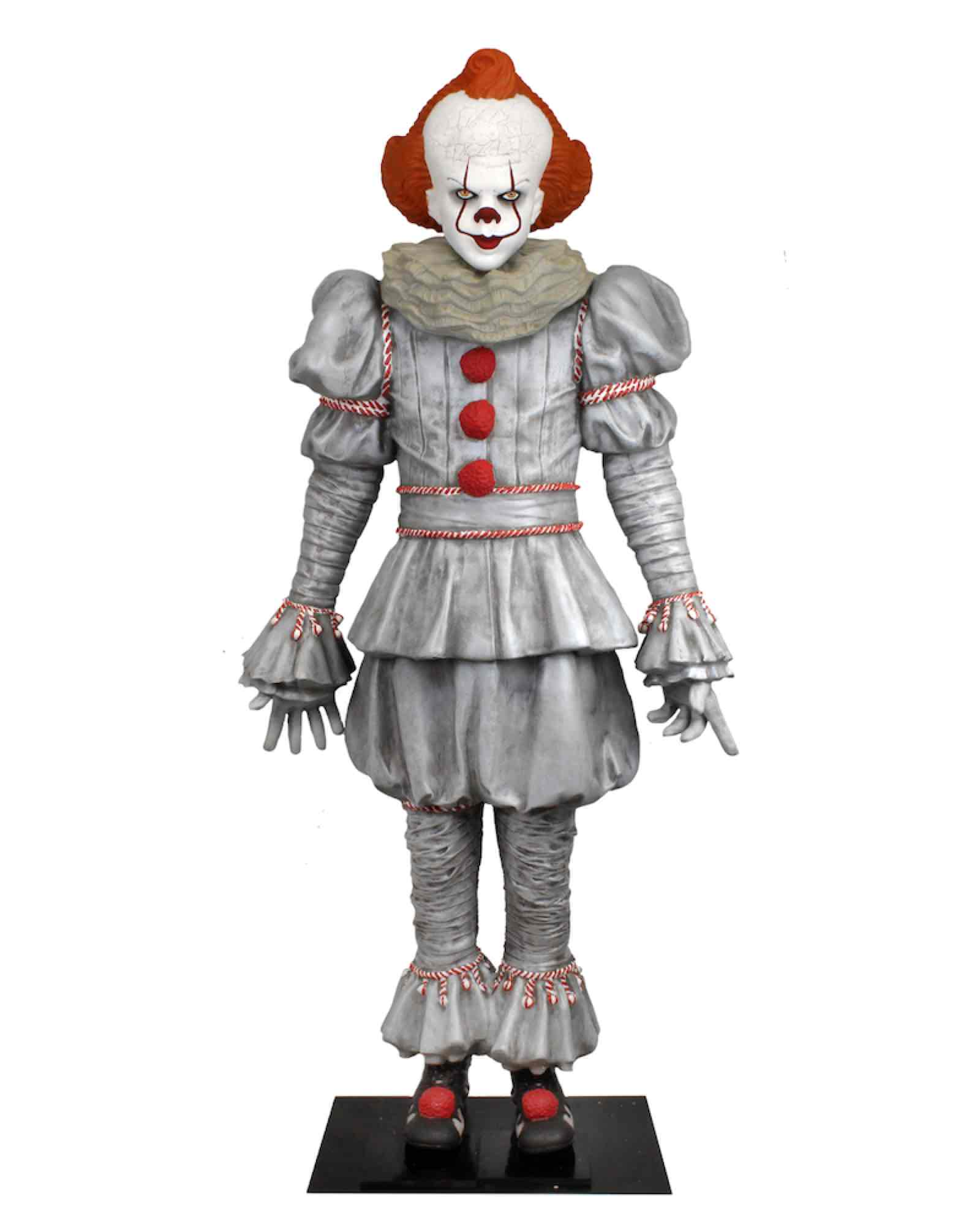 PENNYWISE LIFE SIZE LATEX REPLICA 1,83 METROS ...