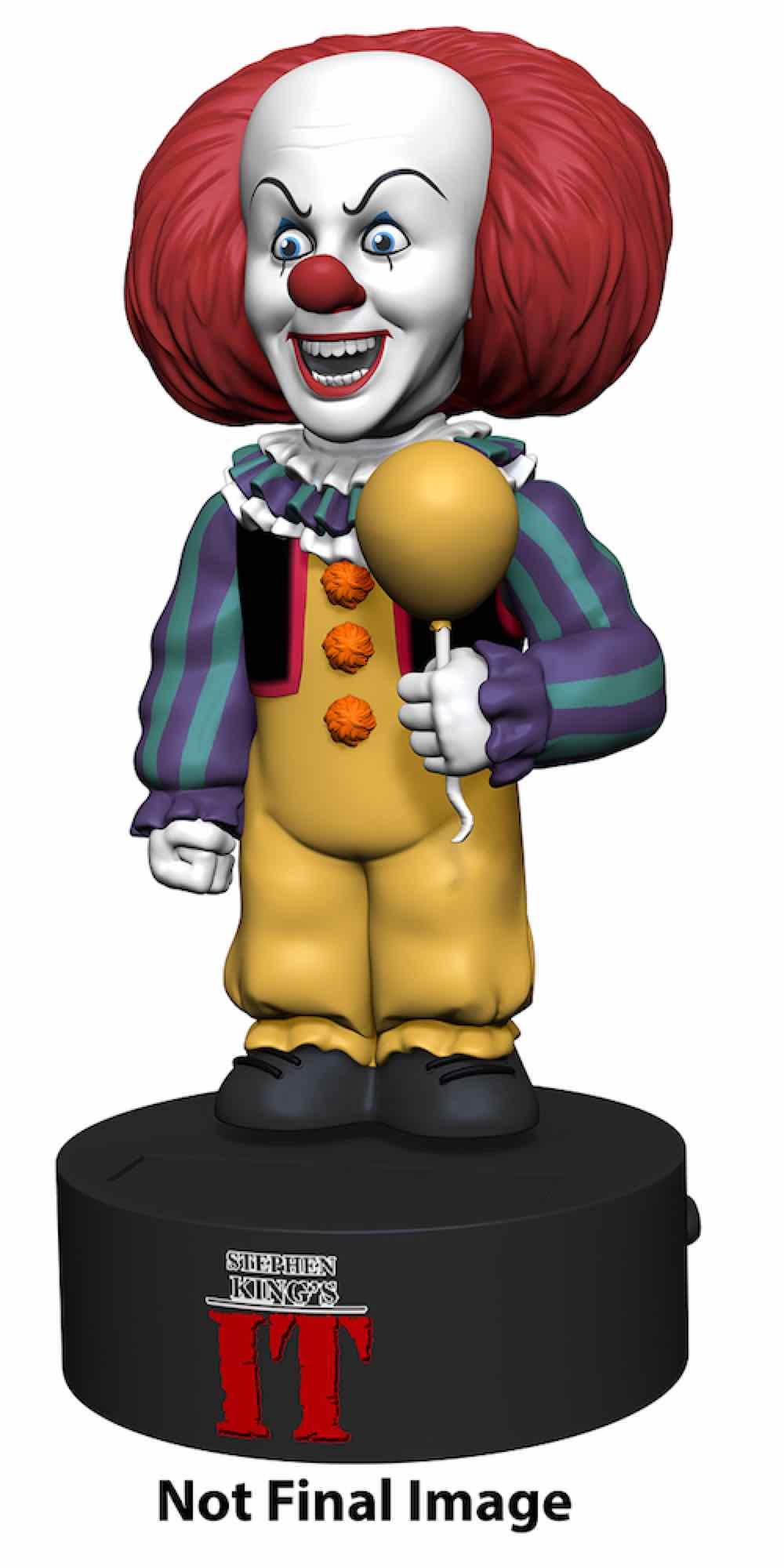 PENNYWISE BODY KNOCKER FIGURA 16.5 CM IT 1990 MINISERIES