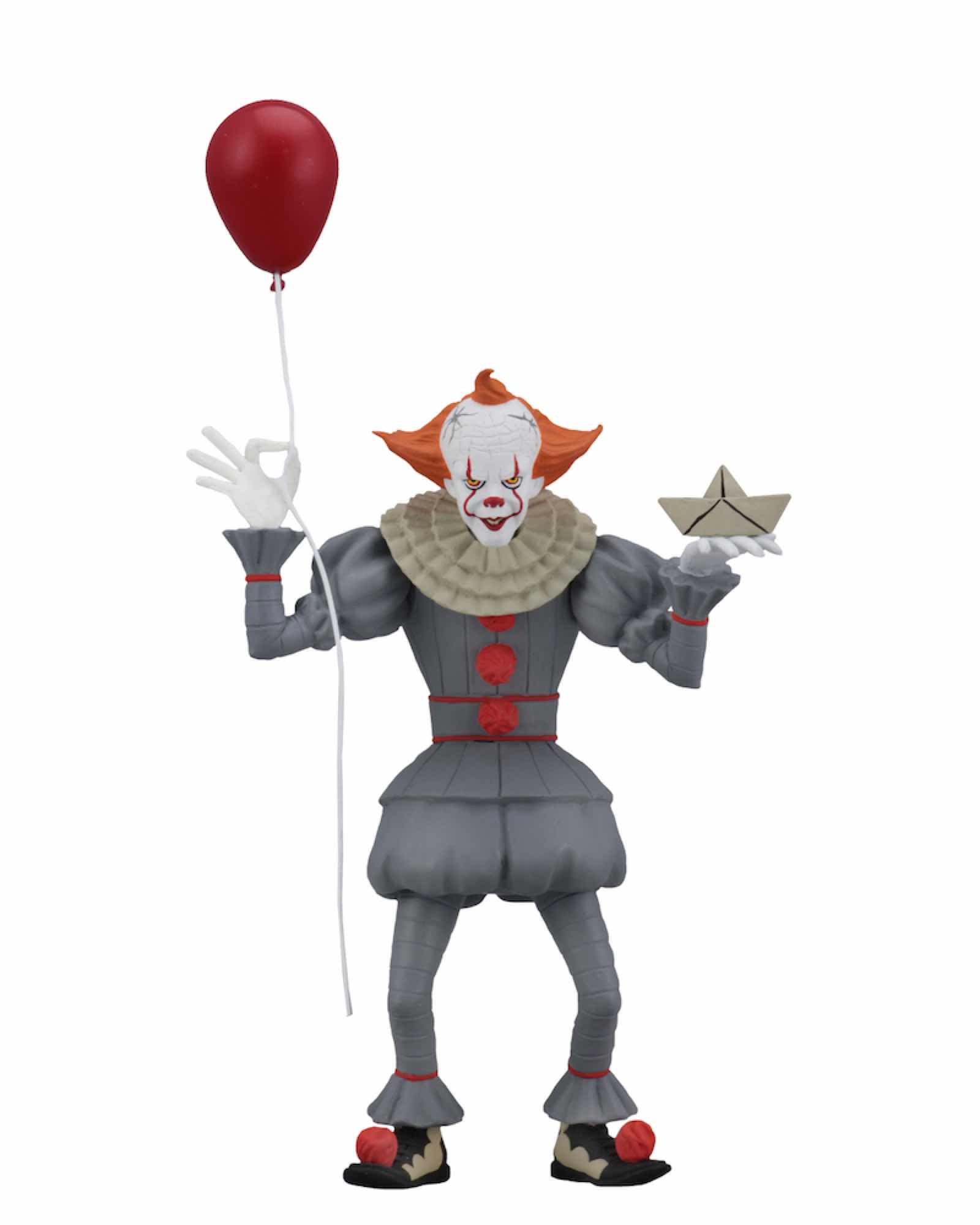 TOONY TERRORS PENNYWISE FIGURA 15 CM SCALE ACTION FIGURE IT 2017 (REISSUE)