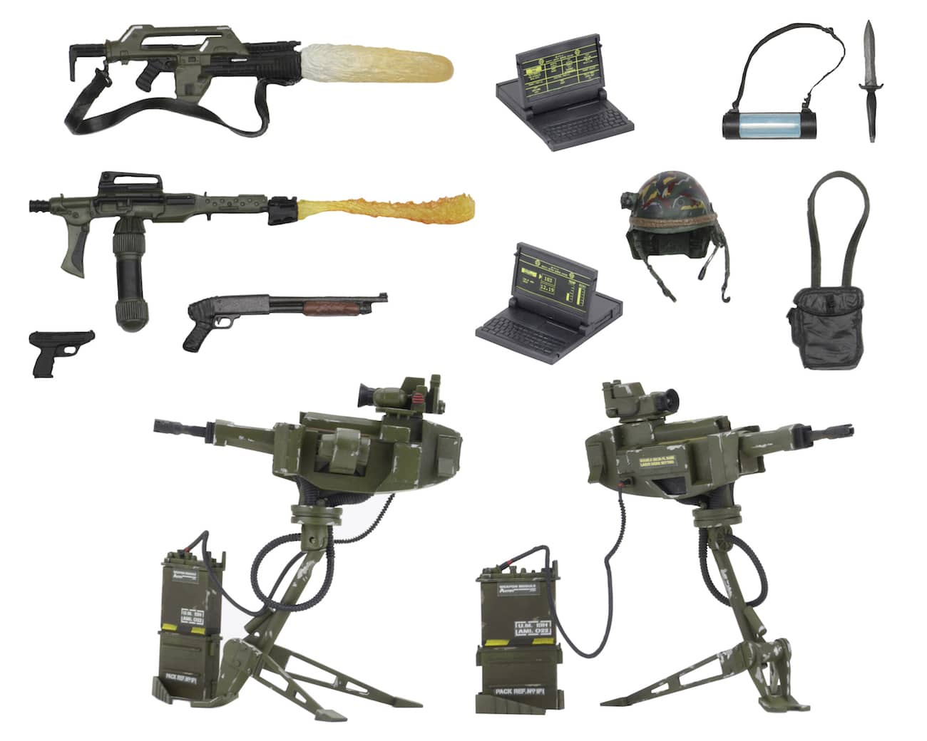 ARSENAL ARMAS USCM ACCESORIOS PACK ALIENS