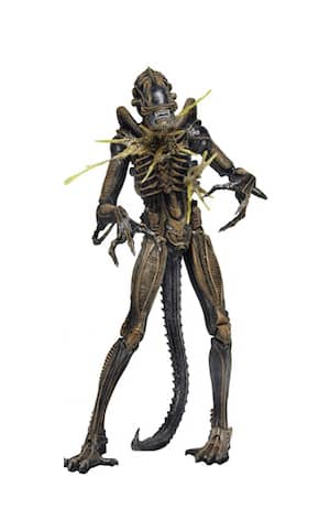 ALIEN MARRON WARRIOR DAÑADO FIGURA 18 CM ALIENS SERIE 12