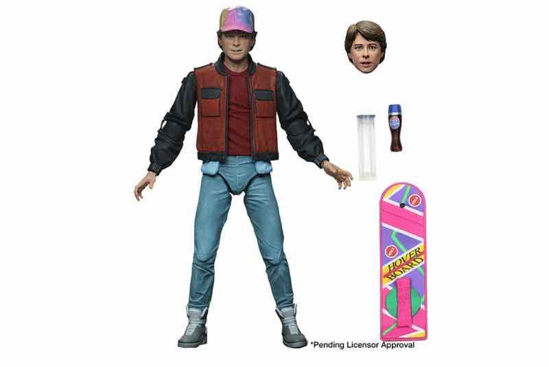 ULTIMATE MARTY MCFLY FIGURA 18 CM SCALE ACTION FIGURE BACK TO THE FUTURE 2