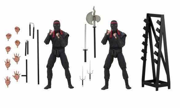 FOOT SOLDIER WITH WEAPONS RACK PACK 2 FIGURAS ...