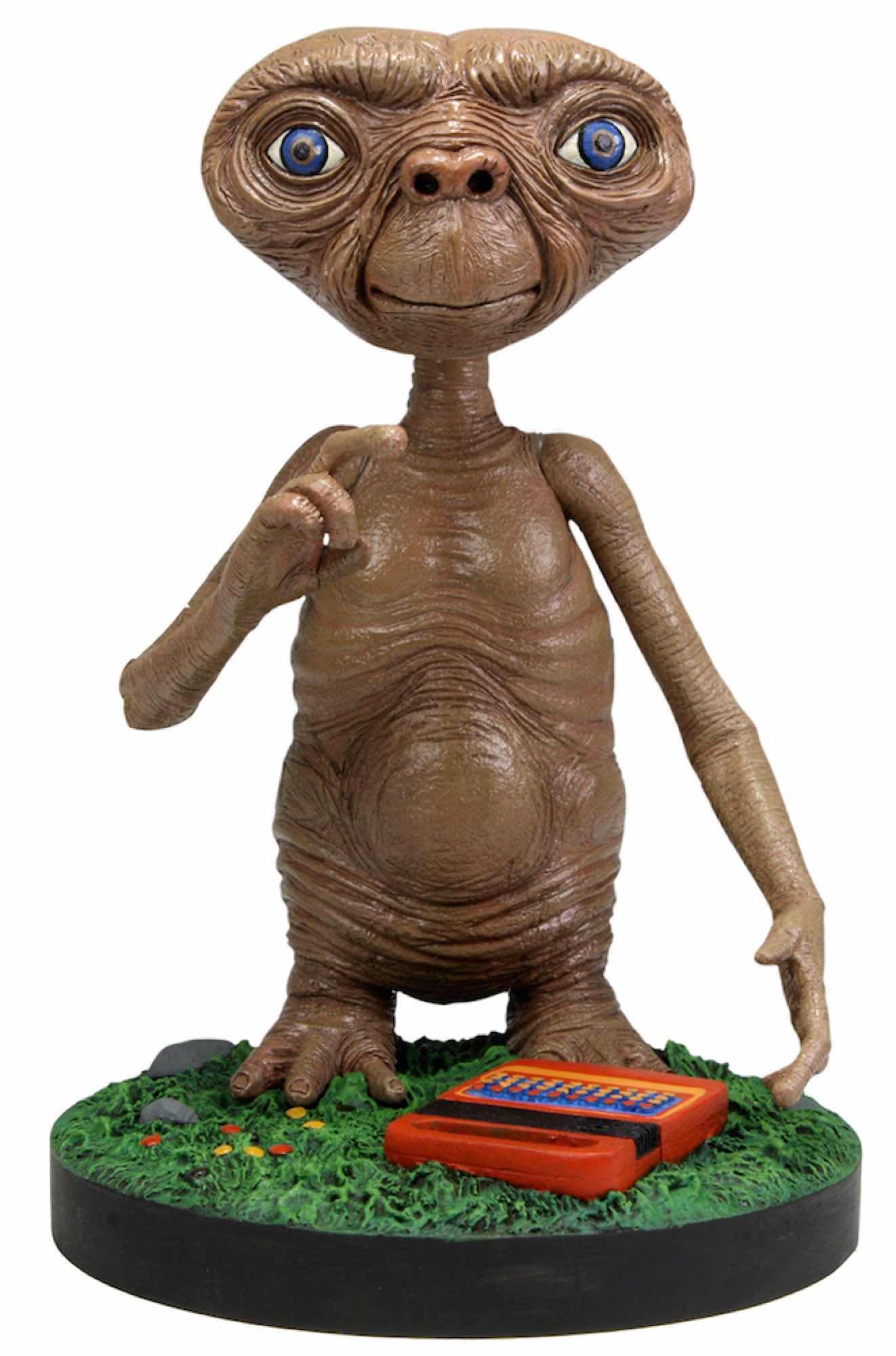 E.T. CABEZON FIGURA 18 CM HEAD KNOCKER E.T. EL EXTRATERRESTRE