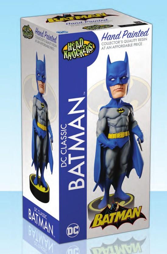 BATMAN  FIG. 20 CM HEAD RESINA KNOCKER DC ORIGINALS