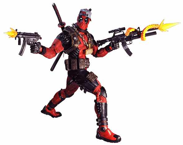 ULTIMATE DEADPOOL FIGURA 45 CM 1/4 SCALE ACTION FIGURE MARVEL CLASSICS
