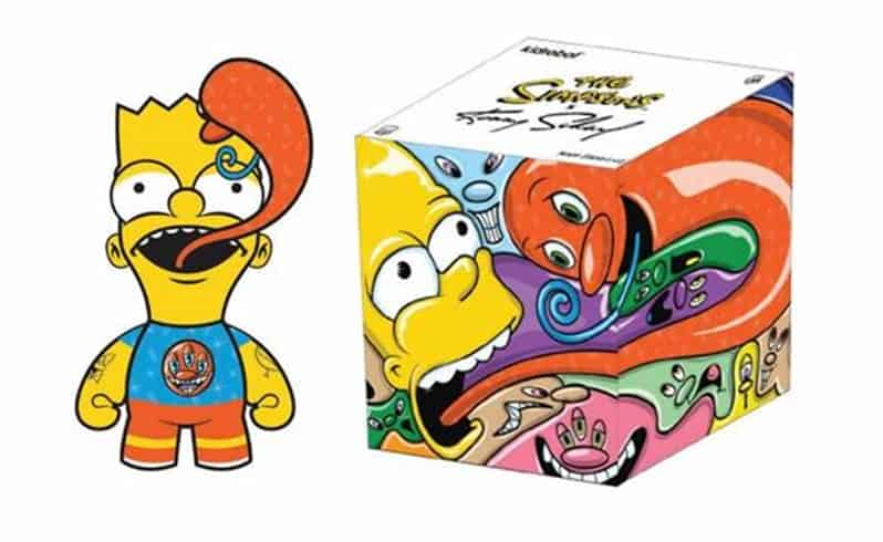 BART BY KENNY SCHARF FIGURA 15 CM THE SIMPSONS