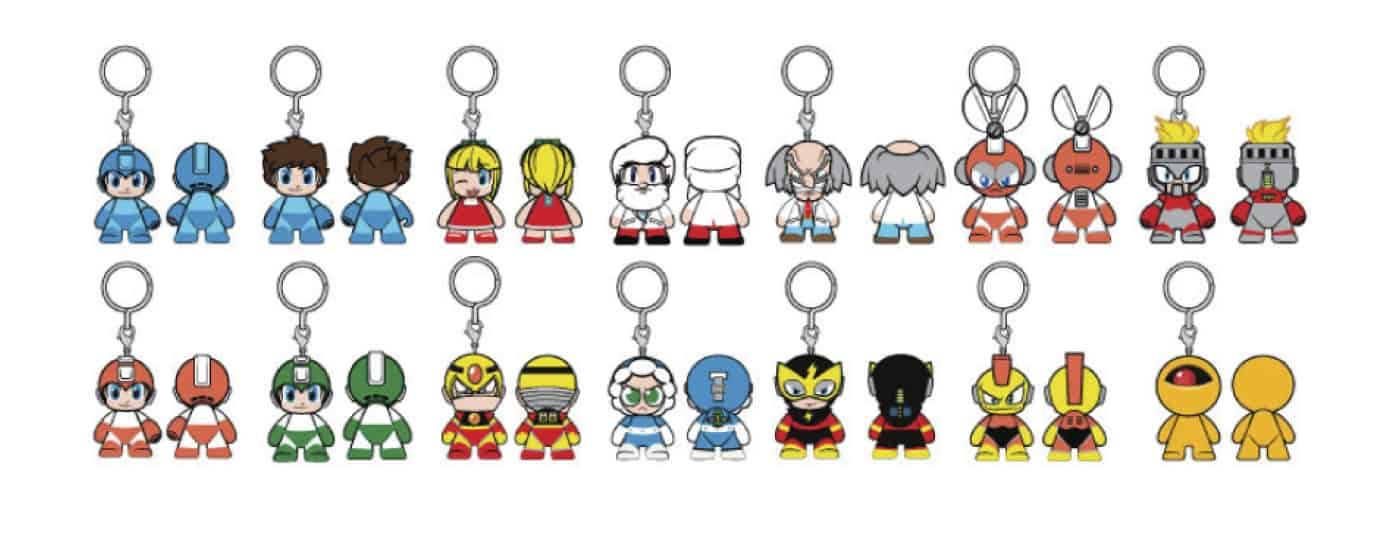 MEGA MAN DISPLAY 20 MINI FIGURAS 7.5 CM MEGAMAN MINI SERIES KIDROBOT