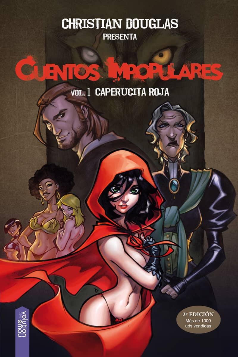 CUENTOS IMPOPULARES 01.  CAPERUCITA ROJA (ADULTOS)