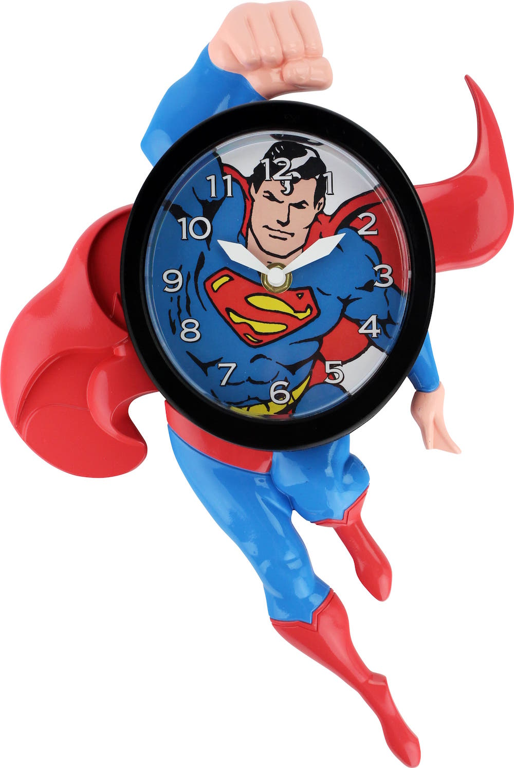 SUPERMAN RELOJ 3D MOVIMIENTO UNIVERSO DC
