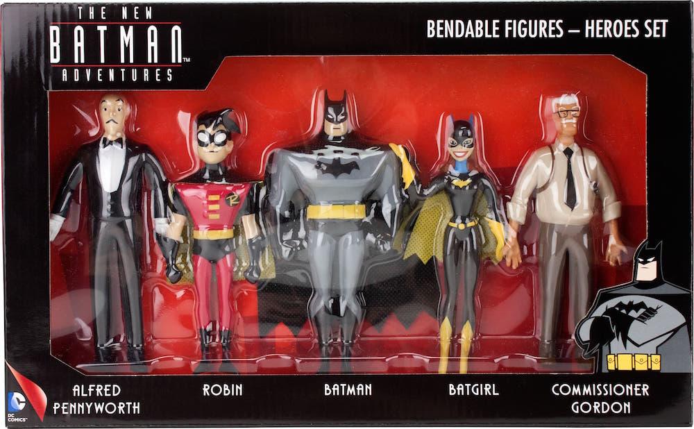 HEROES FIGURA FLEXIBLE PACK 5 THE NEW BATMAN ADVENTURES UNIVERSO DC