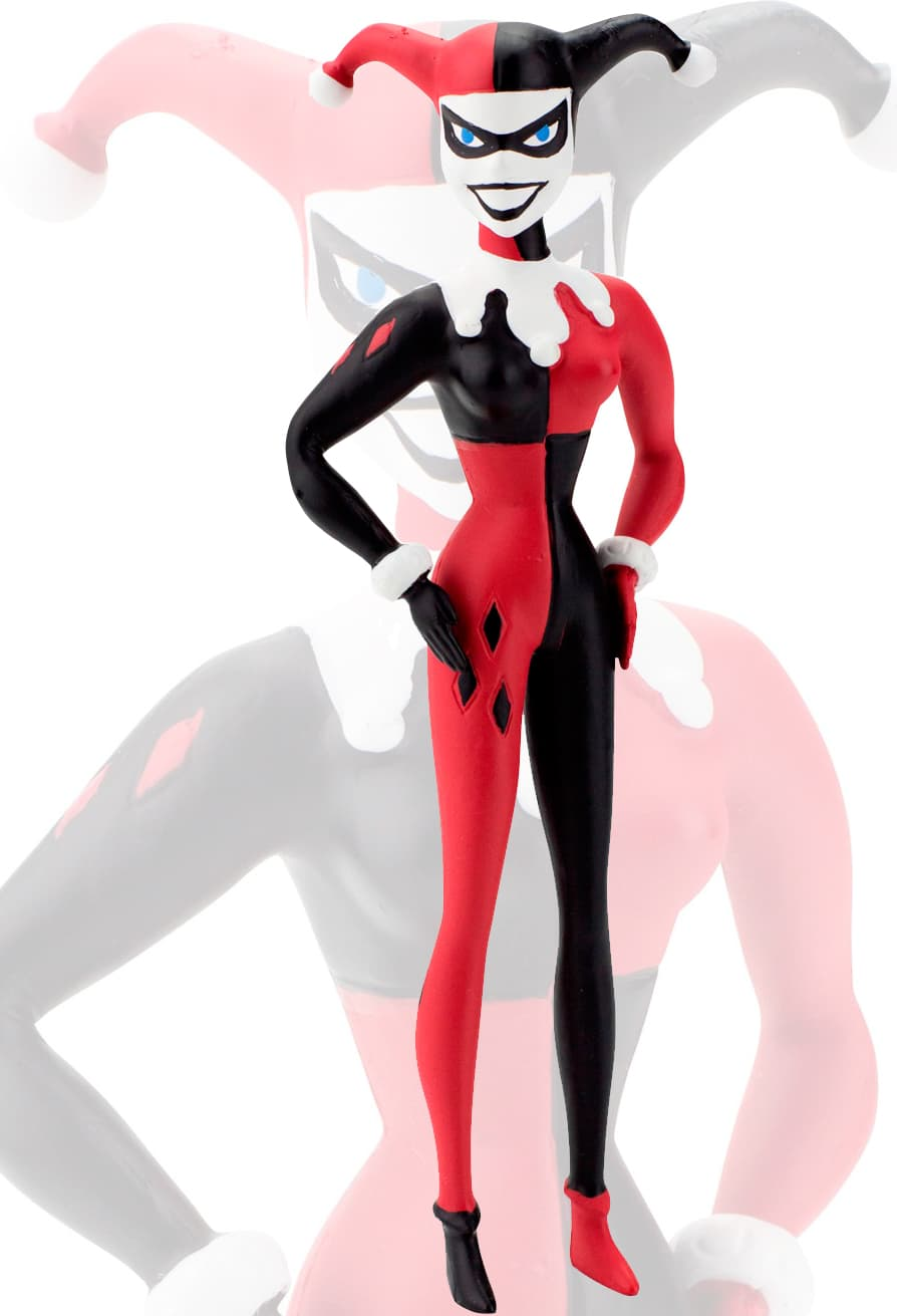 HARLEY QUINN FIGURA FLEXIBLE 14 CM THE NEW BATMAN ADVENTURES UNIVERSO DC