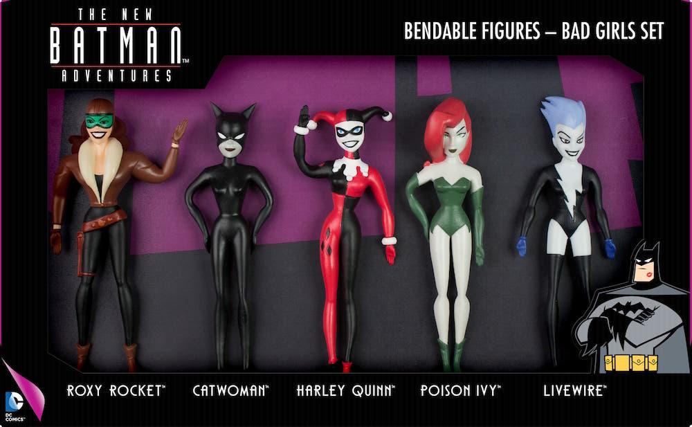 BAD GIRLS FIGURA FLEXIBLE PACK 5 THE NEW BATMAN ADVENTURES UNIVERSO DC